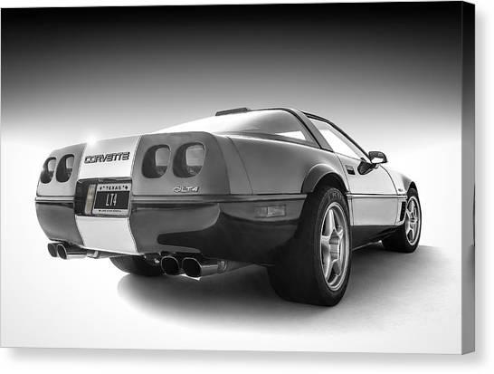 Chevy Canvas Print - Corvette C4 by Douglas Pittman