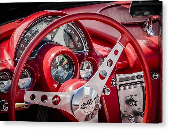 Corvette Dash Canvas Print