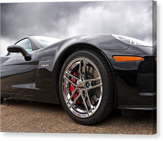 Corvette Z06 Canvas Print