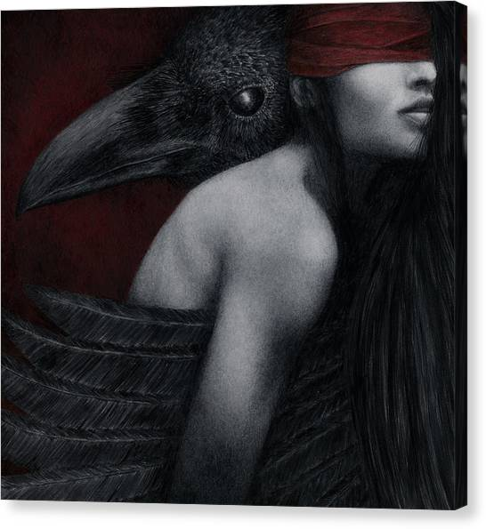 Corvidae Canvas Print