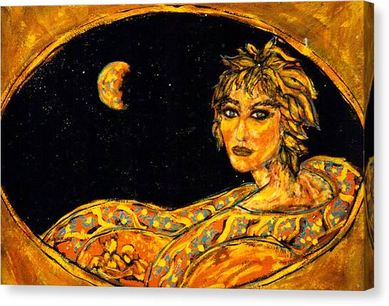 Cosmic Child Canvas Print