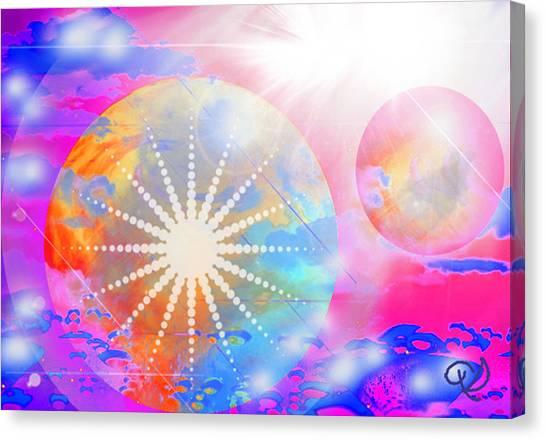 Cosmic Delight Canvas Print