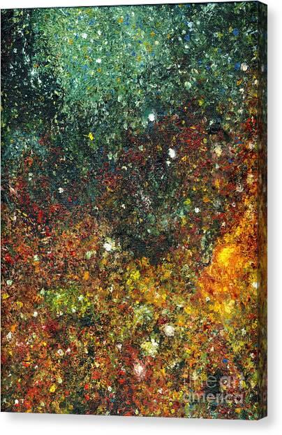 Cosmic Energy Canvas Print
