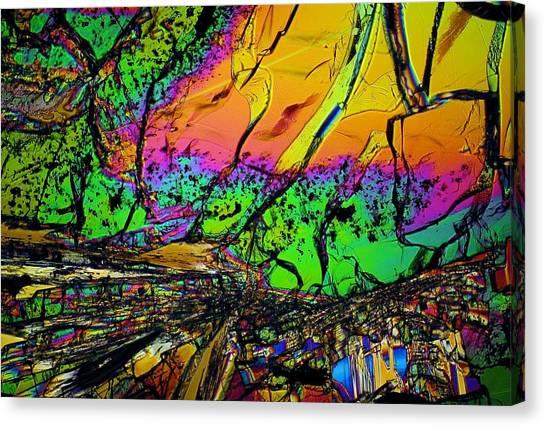 Cosmic Explosion Canvas Print