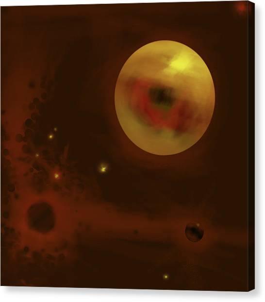 Cosmic Eye Canvas Print