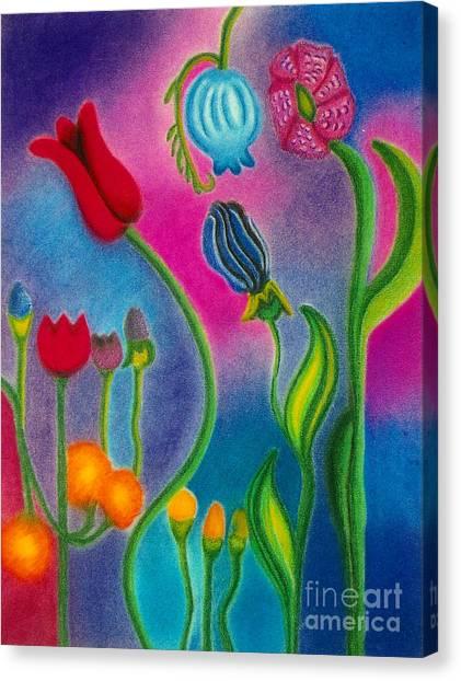 Cosmic Gargen Canvas Print