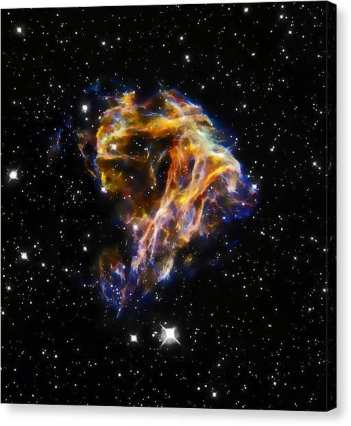 Cosmic Heart Canvas Print