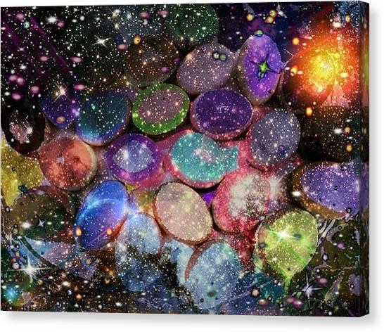 Cosmic Ovule Canvas Print