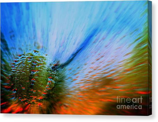 Cosmic Series 006 - Under The Sea Canvas Print