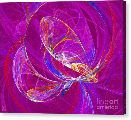 Cosmic Web 3 Canvas Print