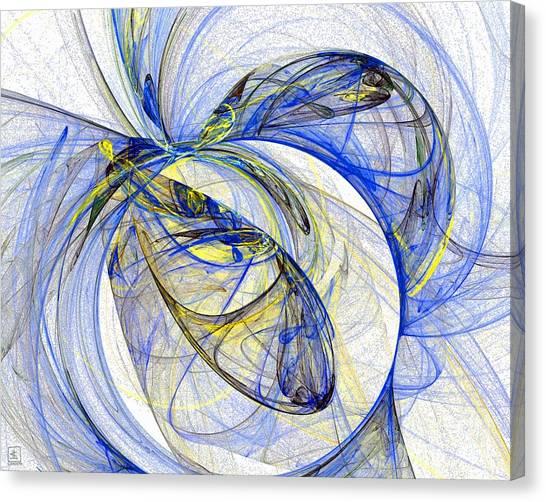Cosmic Web 5 Canvas Print