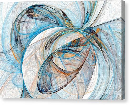 Cosmic Web 6 Canvas Print