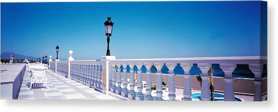Beach Resort Vacation Canvas Print - Costa Del Sol Estepa Spain by Panoramic Images