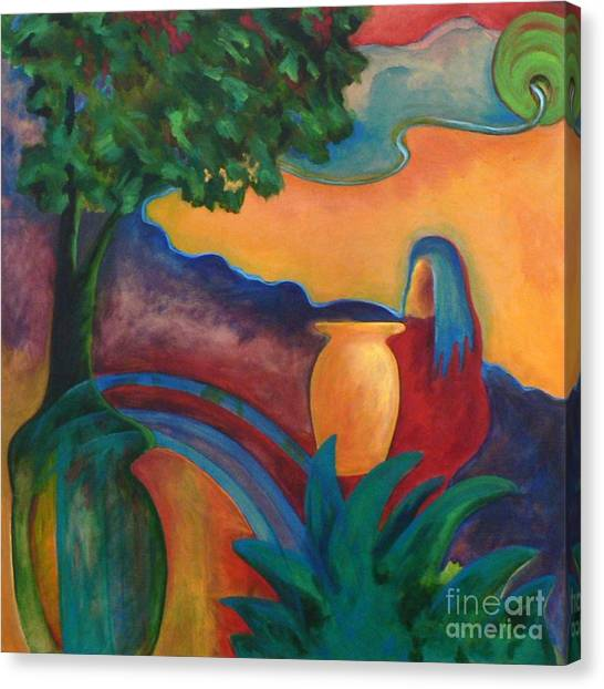 Costa Mango II Canvas Print