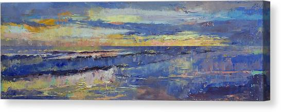 Costa Rican Canvas Print - Costa Rica Sunset by Michael Creese