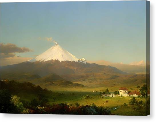 Cotopaxi Canvas Print - Cotopaxi  by Mountain Dreams