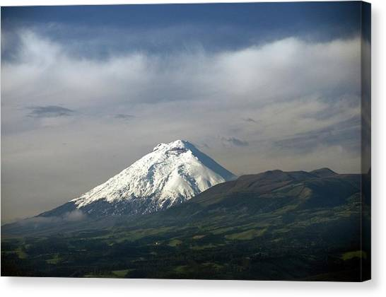 Cotopaxi Canvas Print - Cotopaxi Stratovolcano by Sinclair Stammers/science Photo Library