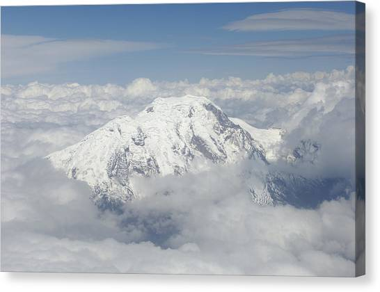 Cotopaxi Canvas Print - Cotopaxi Volcano Ecuador by Pete Oxford