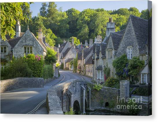 Cotswold Village Canvas Print