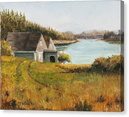 Cottage Glow Canvas Print