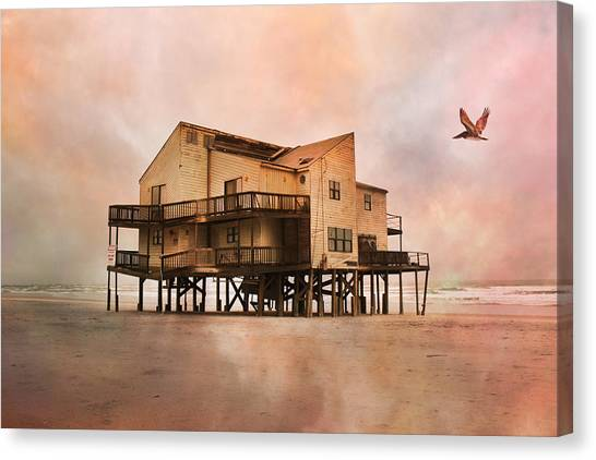 Demo Canvas Print - Cottage Of The Past by Betsy Knapp