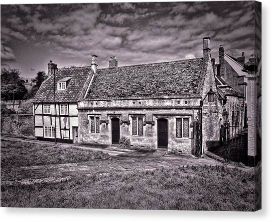 Cottages Devizes -1 Canvas Print