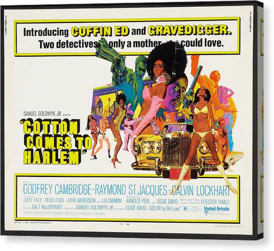 Harlem Canvas Print - Cotton Comes To Harlem Poster by Gianfranco Weiss