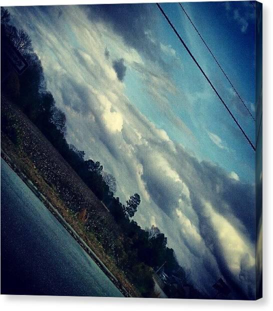 South Carolina Canvas Print - Cotton Fields by Ashley Woods