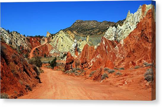Cottonwood Canyon Road IIi Canvas Print