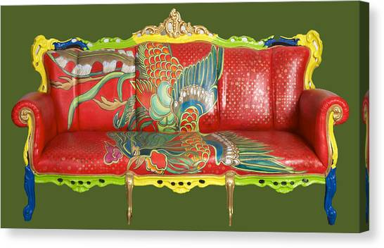 Couch Phoenix Canvas Print