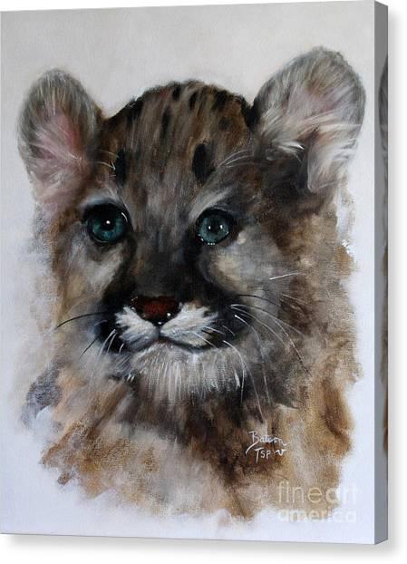 Antares - Cougar Cub Canvas Print