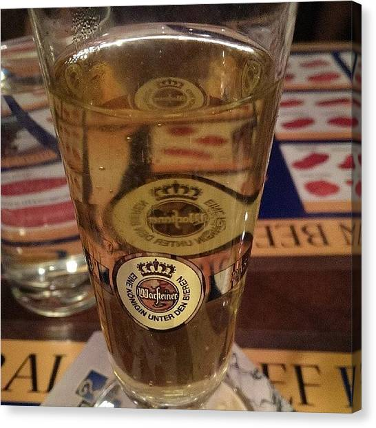 Lager Canvas Print - Counter Meat #warsteiner #lager by Jive Soo