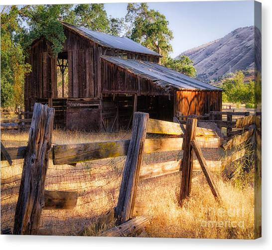Country In The Foothills Canvas Print