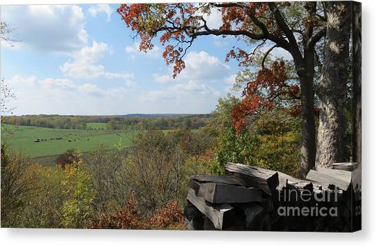 Country Life All Profits Go To Hospice Of The Calumet Area Canvas Print