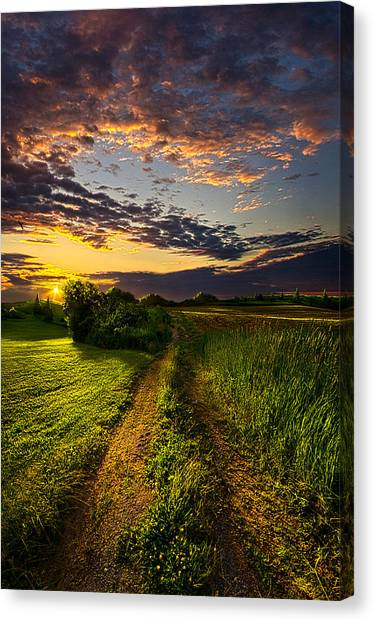 Dirt Road Canvas Print - Country Roads Take Me Home by Phil Koch