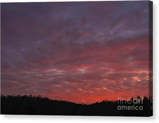 Country Sunset Canvas Print