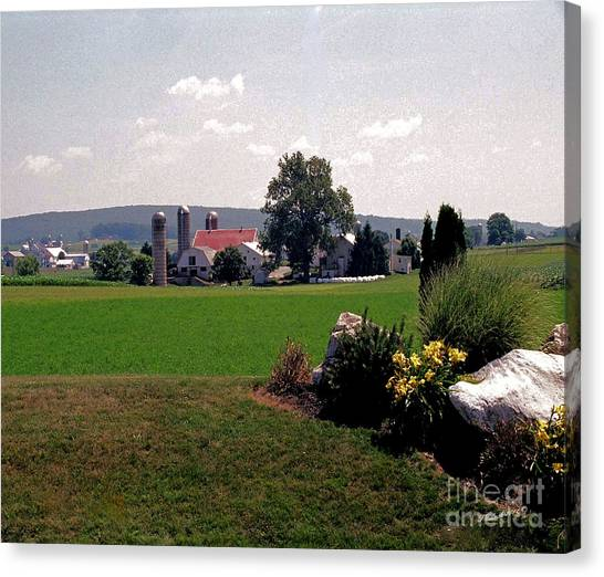 Country Views Canvas Print by Timothy Clinch