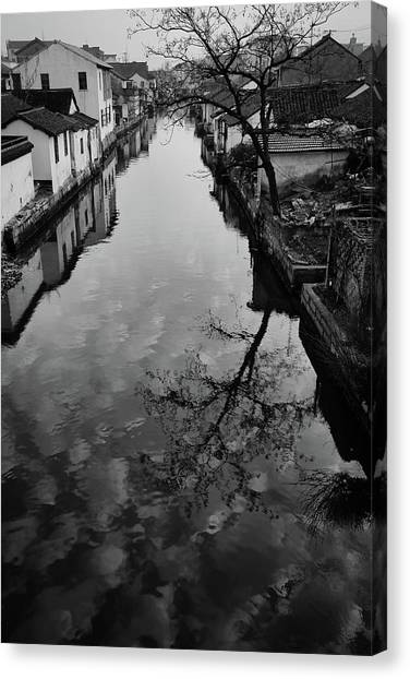 China Town Canvas Print - Countryside In Oneday Trip by Elysee Shen
