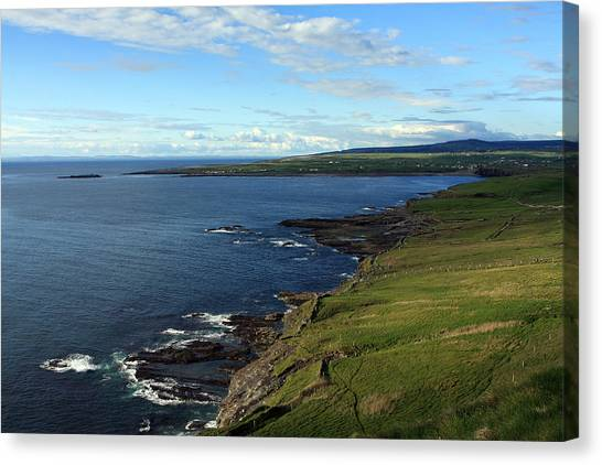 County Clare Coast Canvas Print