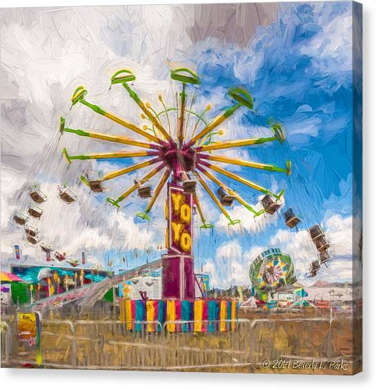 County Fair Canvas Print