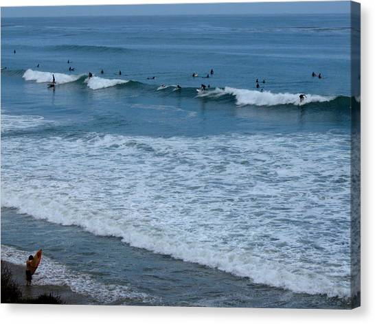 County Line Surfers Canvas Print