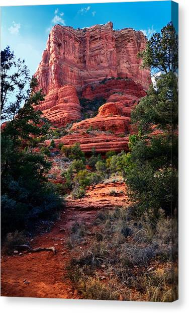 Courthouse Rock Canvas Print