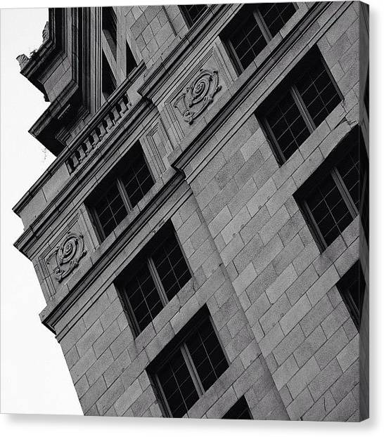 Architecturelovers Canvas Print - Courthouse Tower - Miami ( 1925 - 1928 ) by Joel Lopez