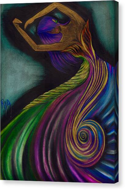 Amazing Canvas Print - Couture Culture by Artist RiA
