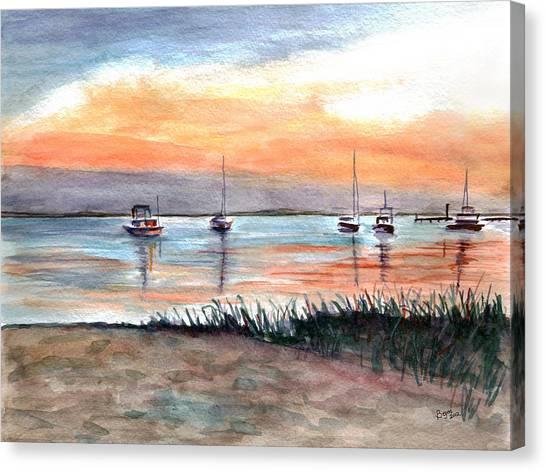 Cove Sunrise Canvas Print