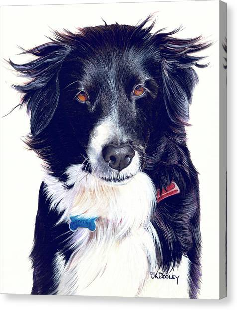 Cover Girl Canvas Print