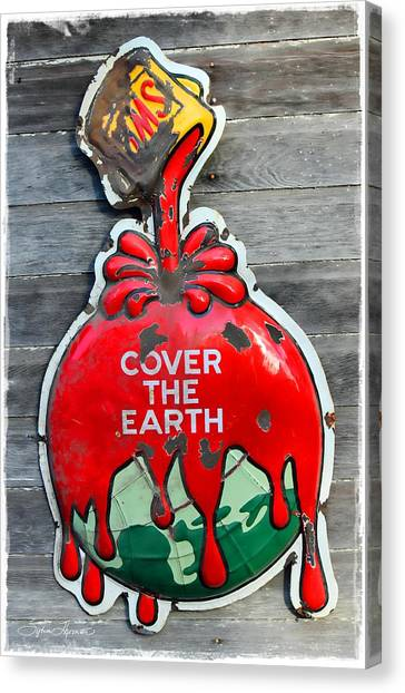 Cover The Earth Canvas Print