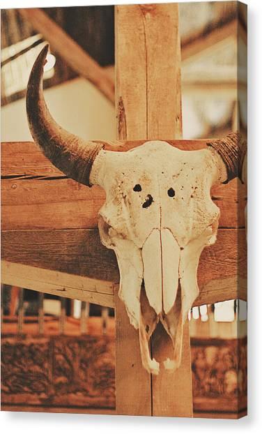 Cowboy Lounge Canvas Print