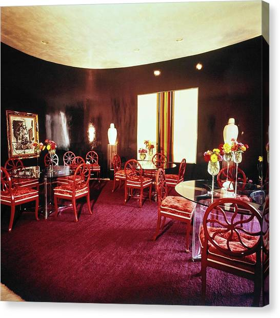 Pablo Picasso Canvas Print - Cowles' Dining Room by Horst P. Horst