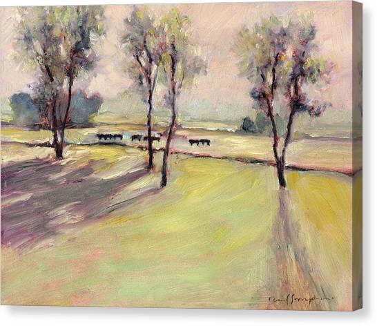 Cows4 Canvas Print